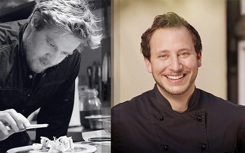 Die Köche von Redüttchen & Friends. Auf der linken Seite des Bildes sehen Sie Sven Nöthel und rechts unseren Redüttchen Küchenchef Matthias Pietsch.