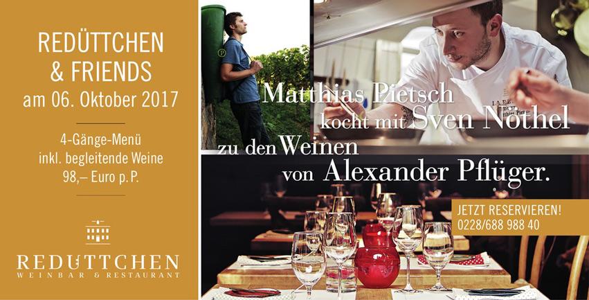 Redüttchen & Friends mit Matthias Pietsch & Sven Nöthel und Alexander Pflüger.