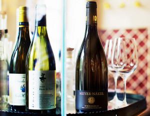 Gänseessen im Redüttchen mit Begleitung von Weinen des Winzers Meyer-Näkel in Bonn.