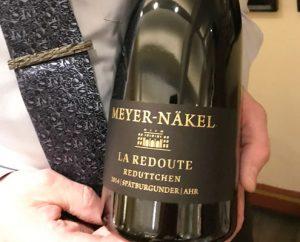 Zum Gänseessen im Redüttchen passen hervorragend die Weine vom Winzer Meyer-Näkel.