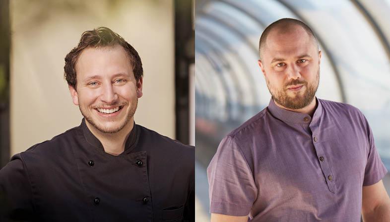 Peter H. Müller kocht zusammen mit Matthias Pietsch im Restaurant Bonn Redüttchen.