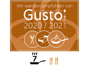 Gusto 2020/ 2021 Empfehlung Restaurant Redüttchen